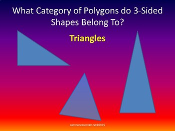 Categorize Polygons by Characteristics - 5.G.3-4