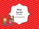 Categorize and Classify Noun Sort