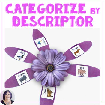Categorize by Descriptor for Speech Therapy Autism