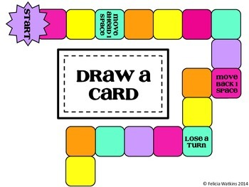 Categorizing 2D Figures Board Game {Common Core Aligned 5.G.1,2,3,&4}