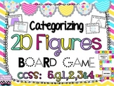 Categorizing 2D Figures Board Game {Common Core Aligned 5.
