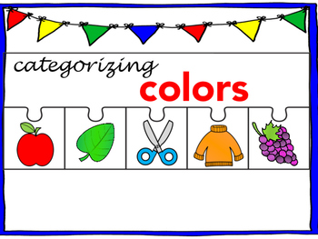 Categorizing Colors
