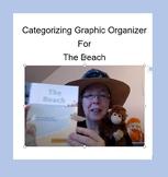 Categorizing Graphic Organizer for The Beach (Kindergarten