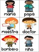 Categorizing Nouns and Verbs in Spanish