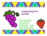 Categorizing fruit
