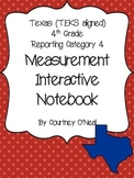 Measurement Interactive Notebook (OLD TEKS)