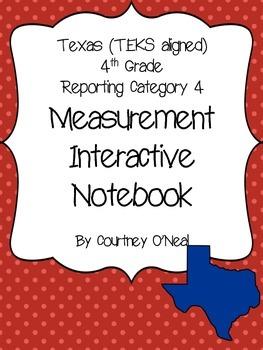 Measurement Interactive Notebook (OLD TEKS)