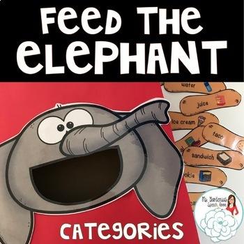 Category Activity: Feed the Elephant