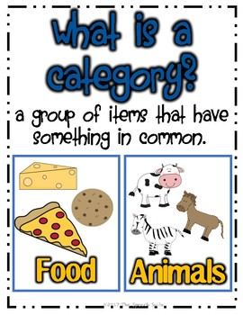 #oct2018slpmusthave Categories Activity Pack