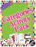 #Feb2021halfoffspeech Categories Activity Pack