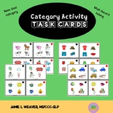 Category Activity Task Cards