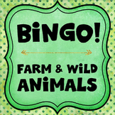 Category Bingo: Animal Flashcards & Games -- $2 DEAL