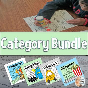 Category Bundle: Back to the Basics, Animals, Food, and Transportation