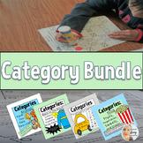 Category Bundle: Basics, Food, Animals, Transportation