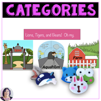 Categories Sort for Speech Therapy
