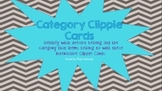 Category Clippie Cards