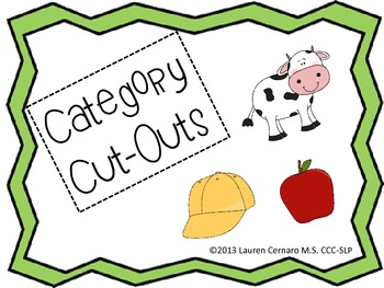 Category Cut-Outs