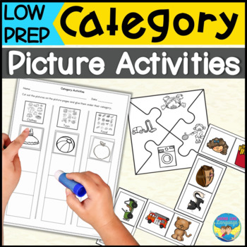 Categories: Picture Sorting Game