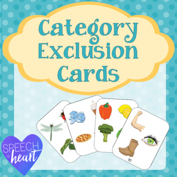 Category Exclusion Cards