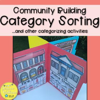 Category File Folder Activity - Community Buildings