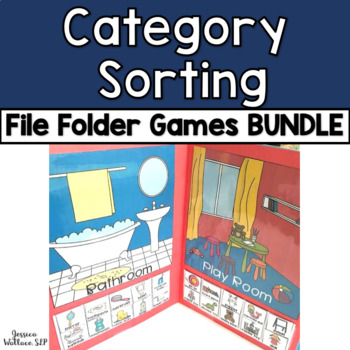 Category File Folder Activity GROWING BUNDLE