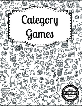Category Games - Executive Function and Handwriting Skills
