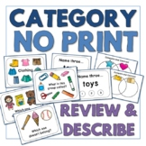 Category - No Print - Review and Describe - Teletherapy
