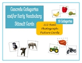 Concrete Categories-Photograph Picture Cards & Sorting Mat
