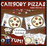 Category Pizzas for Speech Therapy