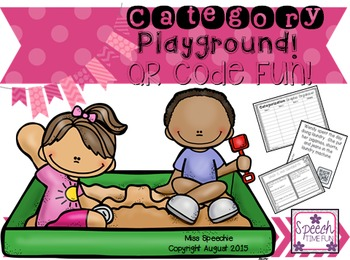 Category Playground QR Code Fun