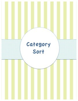 Category Sort