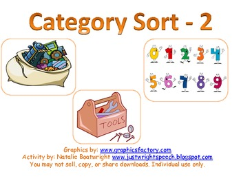 Category Sort - 2nd edition