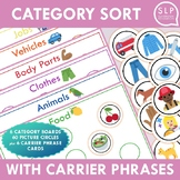 Category Sort for Speech Therapy