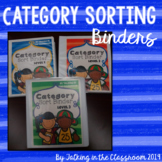 Category Sorting Binders
