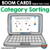Category Sorting Boom Cards