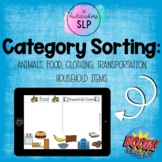 Category Sorting | Boom Cards™ | Speech Therapy
