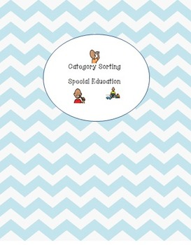 Category Sorting for Students with Autism, Special Education, Early Childhood