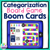 Category Speech Therapy Boom Card Games