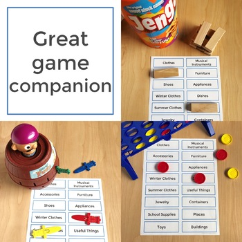 Category - Speech and Language Photo Cards