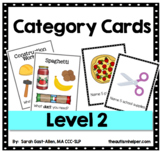 Category Task Cards LEVEL 2