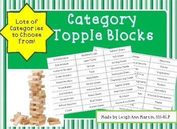 Category Topple Blocks