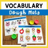 Category Vocabulary Dough Mats