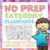 Category Vocabulary Flashcards - 100+ Page Mega Pack! 12 c