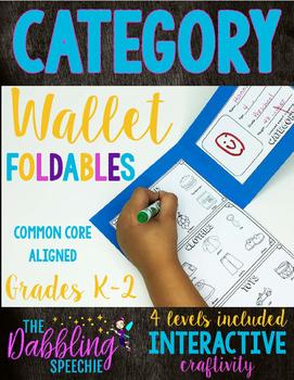 Category Wallet Craftivity Books