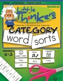Category Word Sorts - March