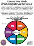 Category Word Wheels for Vocabulary Development {FREEBIE}