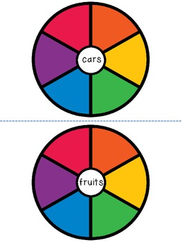 Category Word Wheels for Vocabulary Development {FREEBIE}