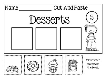 Category Worksheets ~ Cut And Paste