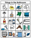 Category/Concept Boards - Things in the Bathroom