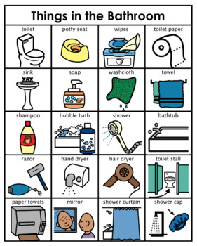 Category Concept Boards Things In The Bathroom By Lauren Erickson